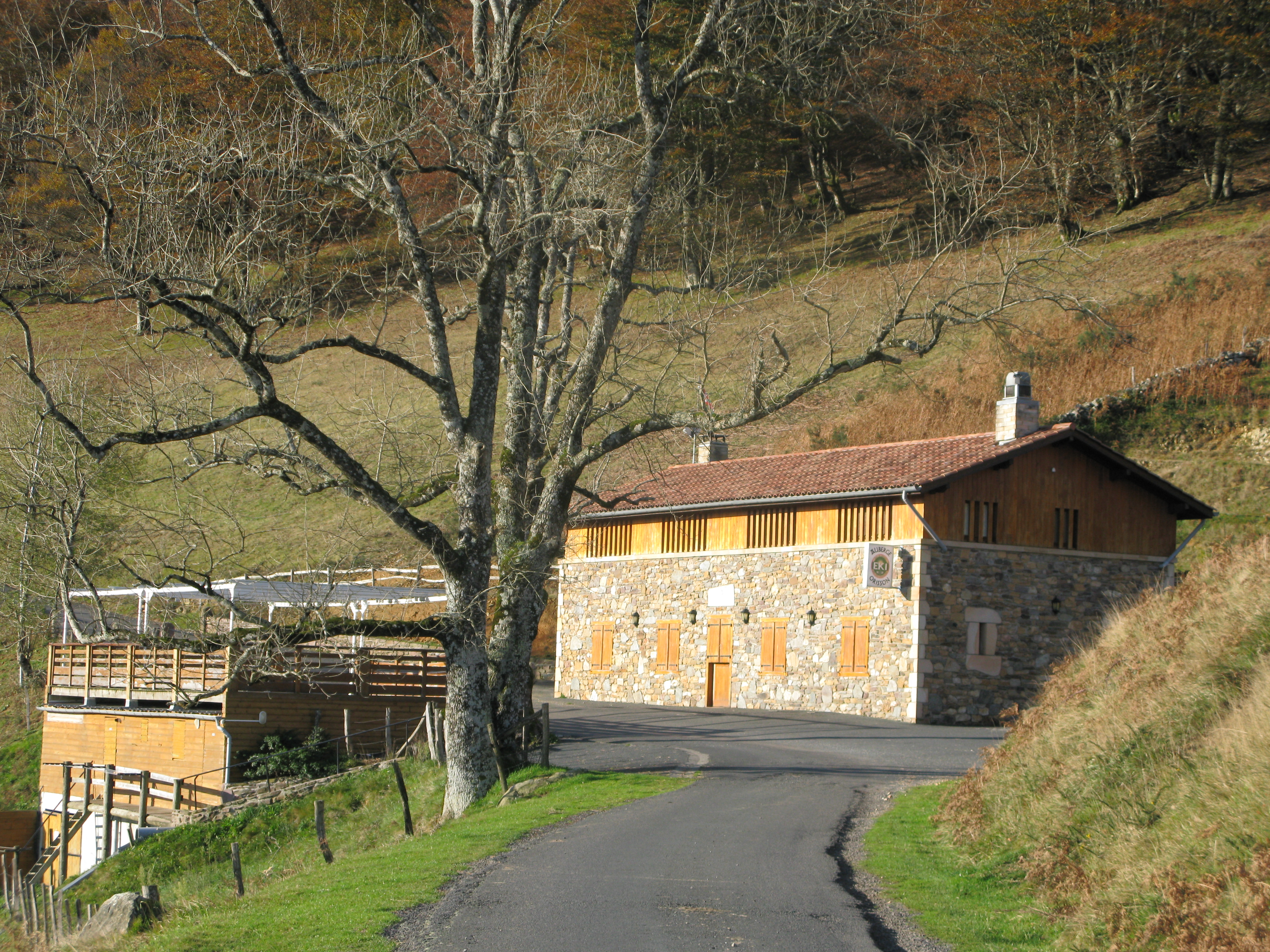 Walking the camino de santiago from saint jean pied de port in france to roncesvalles in - St jean pied de port to roncesvalles ...