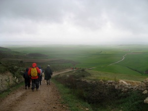 On the Camino de Santiago in April, 2007. Photo: Y. A. E. Grossman